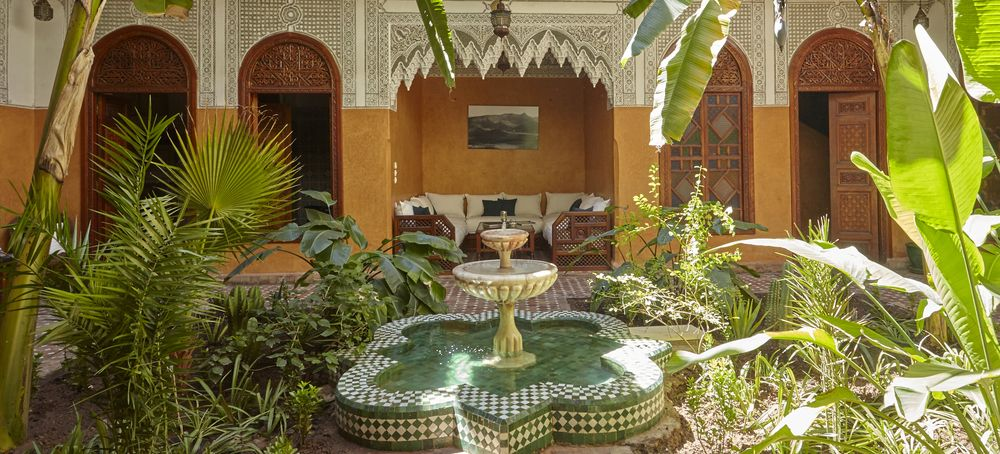 patio marocain riad jardin secret marrakech maroc riad marocain pinterest location riad. Black Bedroom Furniture Sets. Home Design Ideas