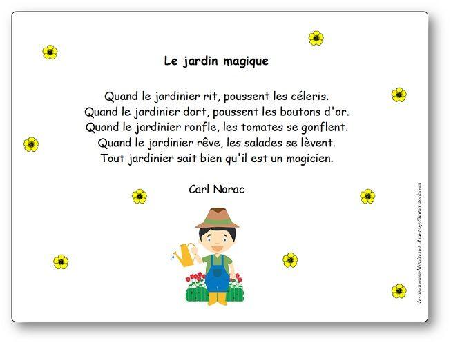 Paroles De La Chanson Le Jardin Magique Quand Le Jardinier Rit