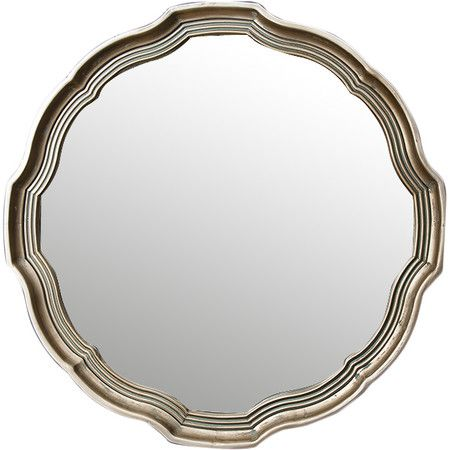 Featuring an antique gold finish, this mirror is perfect in your rustic bathroom or in the hallway for last-minute touch-ups before you leave the house.