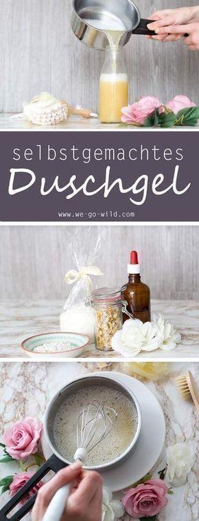 Duschgel selber machen: Die einfachste Anleitung für DIY Duschcreme