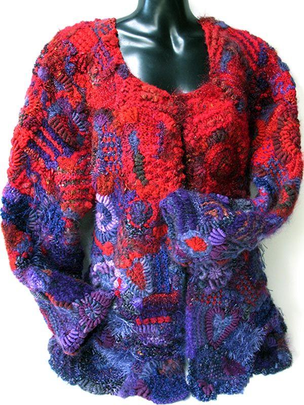 Freeform jacket by Prudence Mapstone - a photo on ...