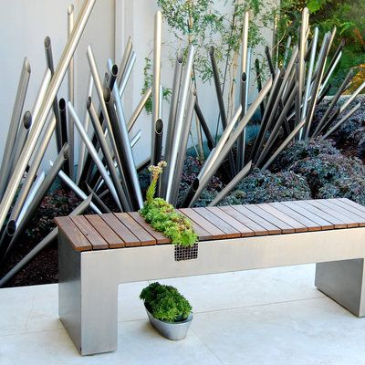 Cool 10 Stylishly Functional Garden Benches Succulents Garden Caraccident5 Cool Chair Designs And Ideas Caraccident5Info