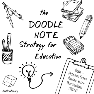 The Doodle Note Strategy for Education: Brain Reasearch