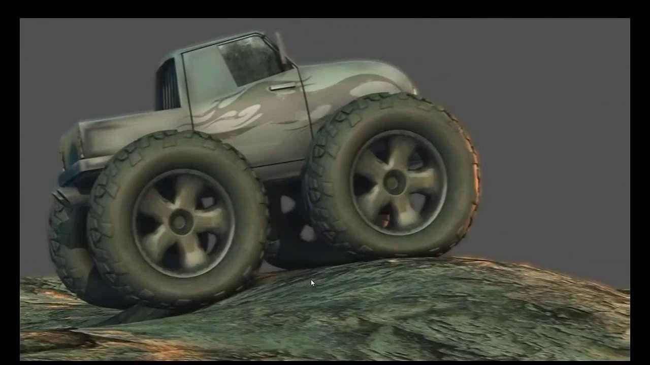 Sharing dynamic car rig using particles tutorial  | Maya_
