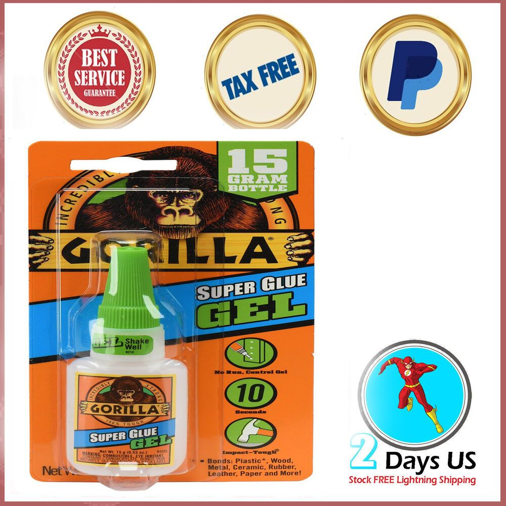 Perfect Super Glue Gel For Plastic Rubber Shoes Metal Strong 15 G