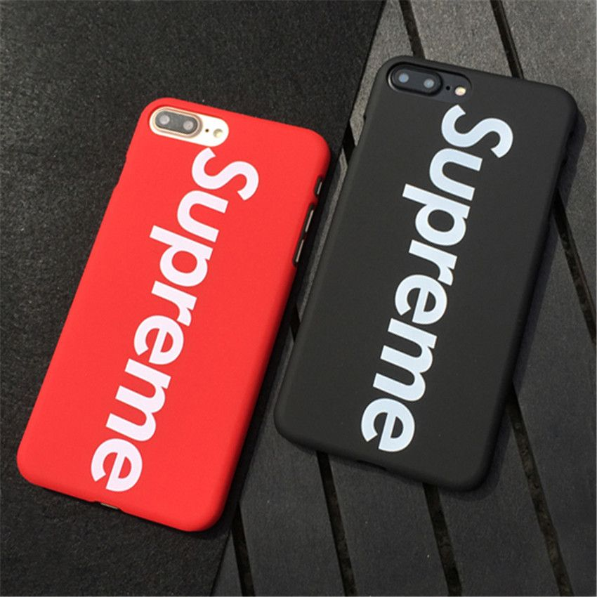 brand suprem cases for iphone 7 6s case fashion letter. Black Bedroom Furniture Sets. Home Design Ideas