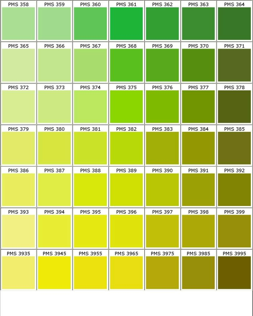 nuancier pantone vert jaune d co nuanciers pinterest. Black Bedroom Furniture Sets. Home Design Ideas