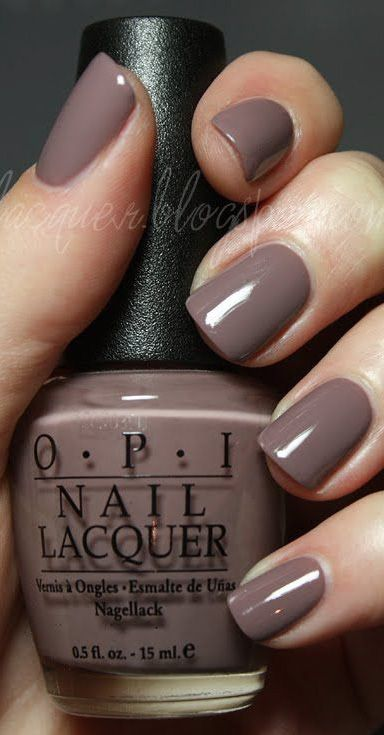 This neutral color nail polish could be worn any season. | Nails ...