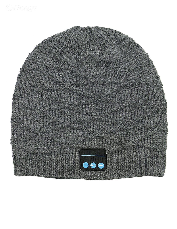8f61d2de734 Bluetooth Beanie Hat Headphones