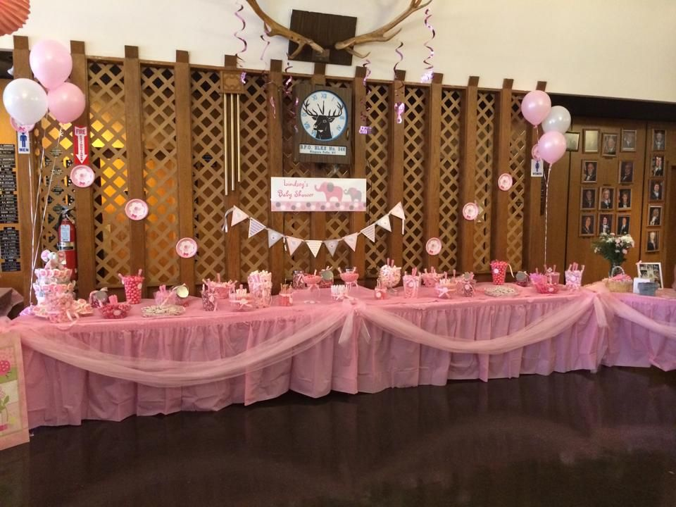 Lindsey's Baby Shower candy bar.