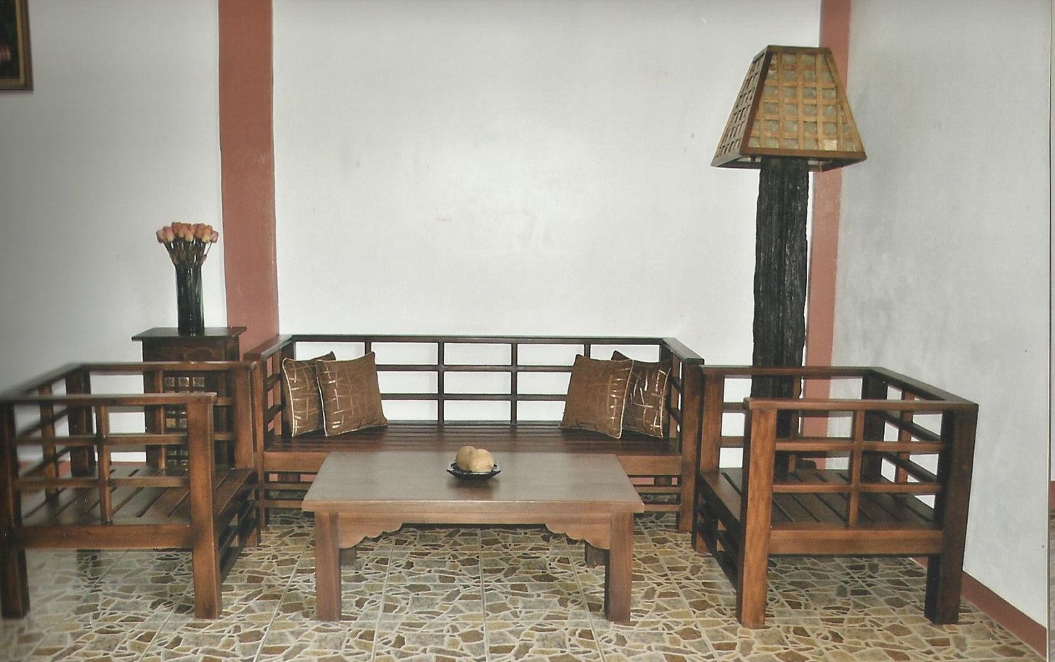 Sala Set Japanese Style Salvaged Old Wood Japanese Style Sala Set 1800 00 Usd By