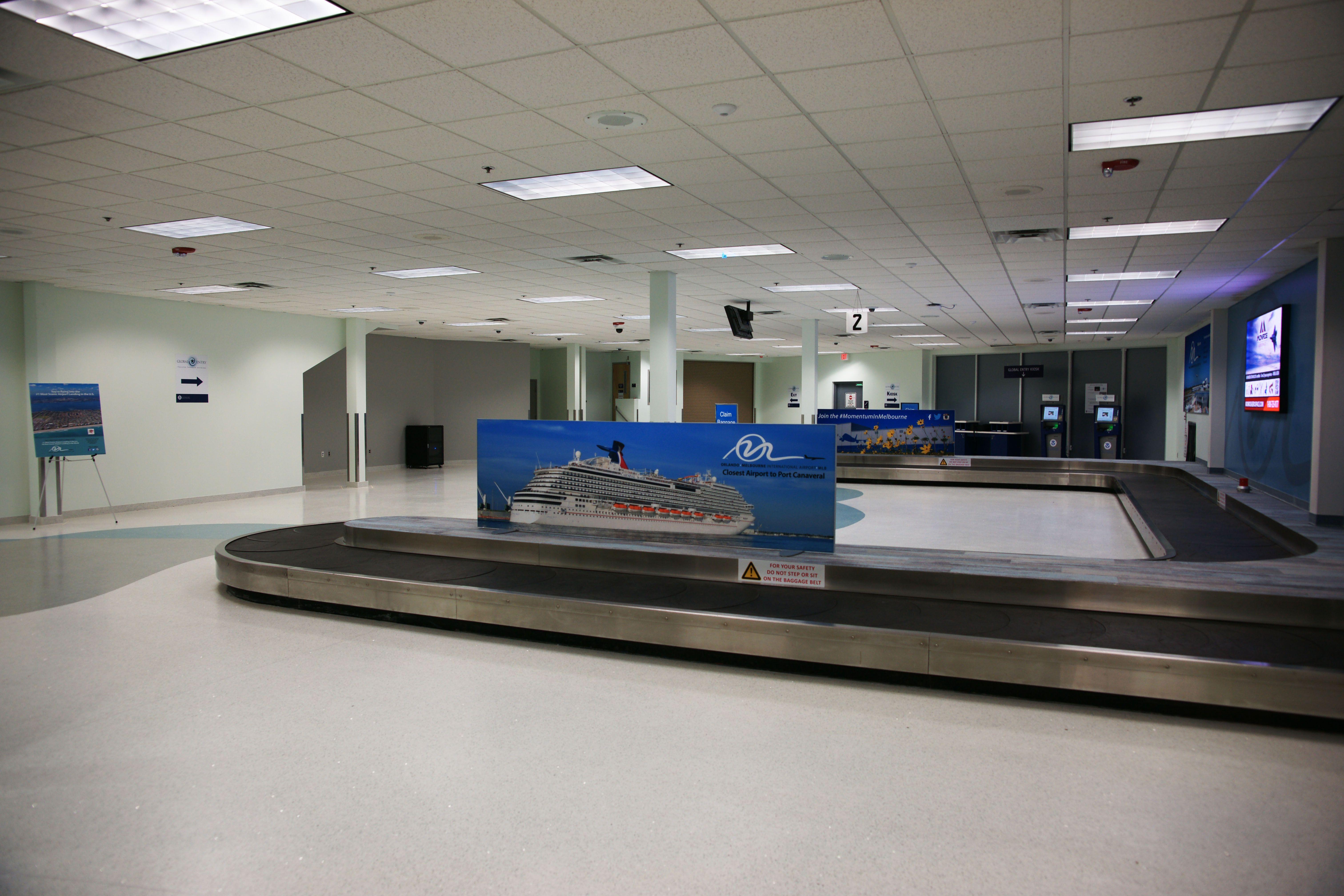 Orlando Melbourne International Airport Terrazzo Flooring