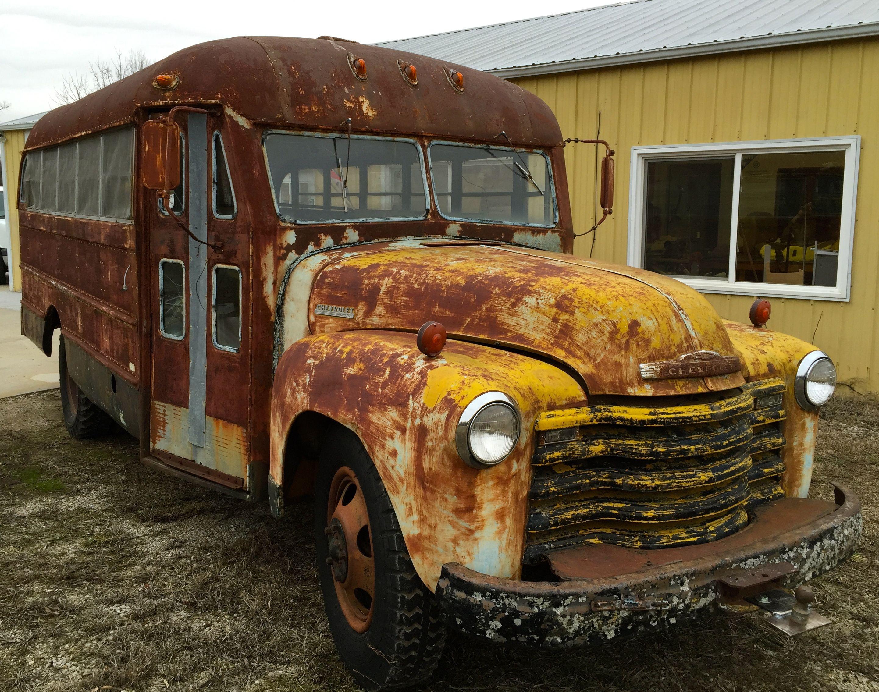 50\' OLD SKOOL BUS FOR SALE. $2,995. 69,000 miles, complete ...