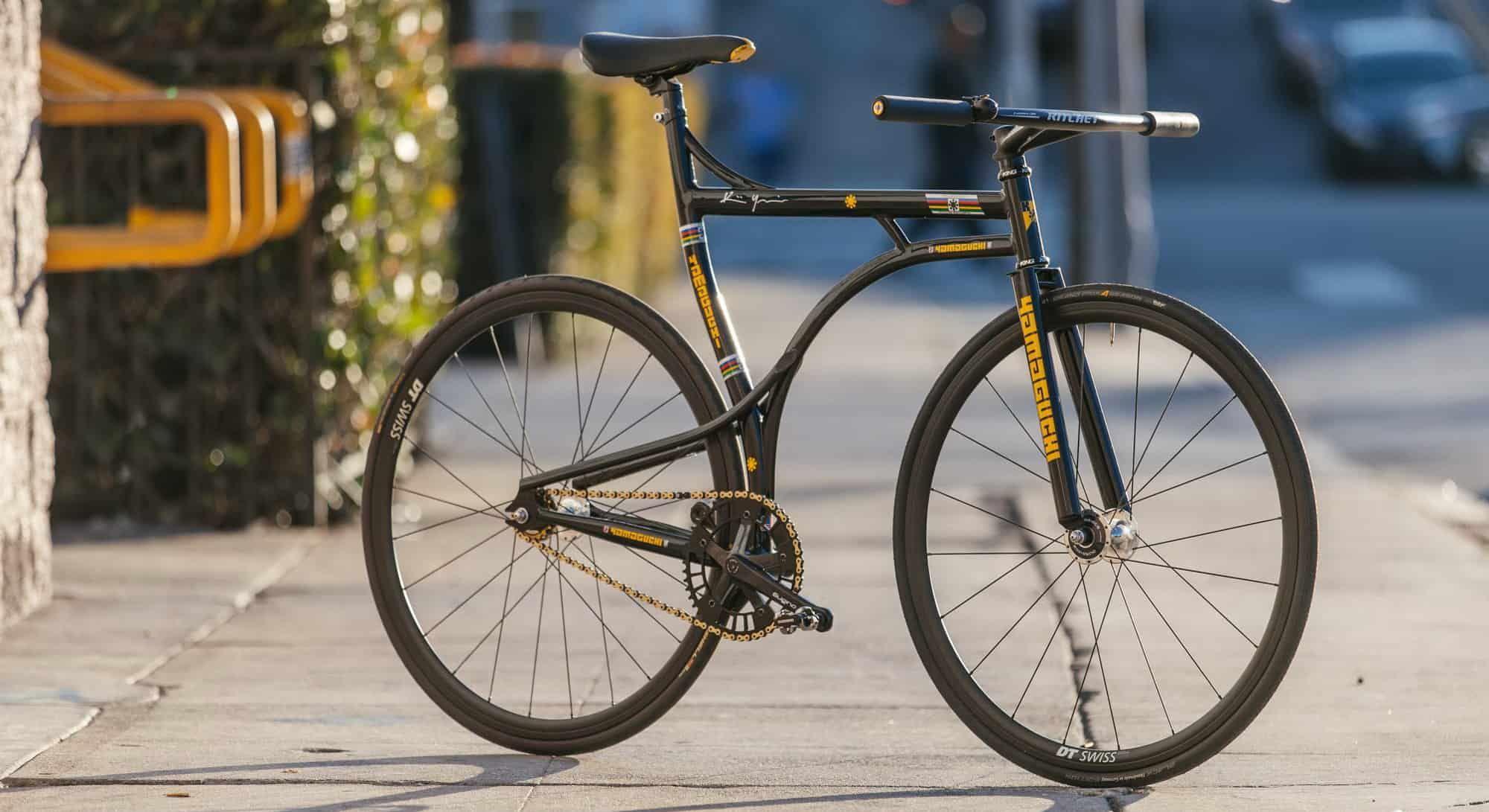 Custom Frame Pursuit Yamaguchi Fixie Sepeda Fixie Sepeda