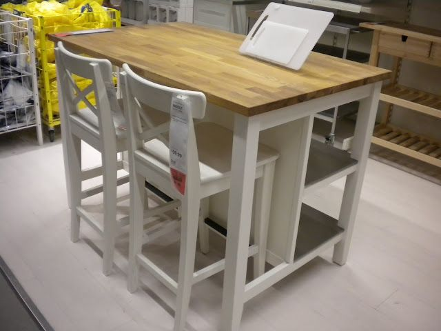 Ikea Stenstorp Kitchen Island 379 Stools Each 59 Totally