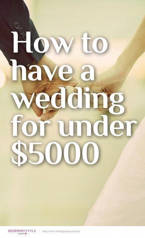 Cheap Wedding Ideas - 36 Genius Ways to Save Money on Your Wedding