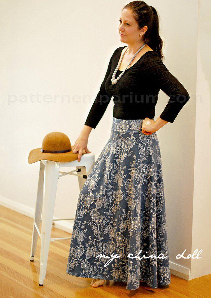 Heartlight Skirt Clothing Patterns By Pattern Emporium Pinterest
