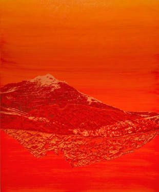 """Saatchi Art Artist Marie Elaine Lalonde; Printmaking, """"Géomorphogonie -2-"""" #art"""