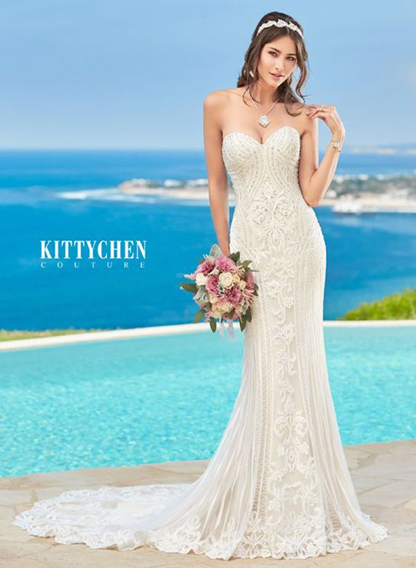 Luxury Caribbean Wedding Dresses By Kitty Chen Couture Alvina 3