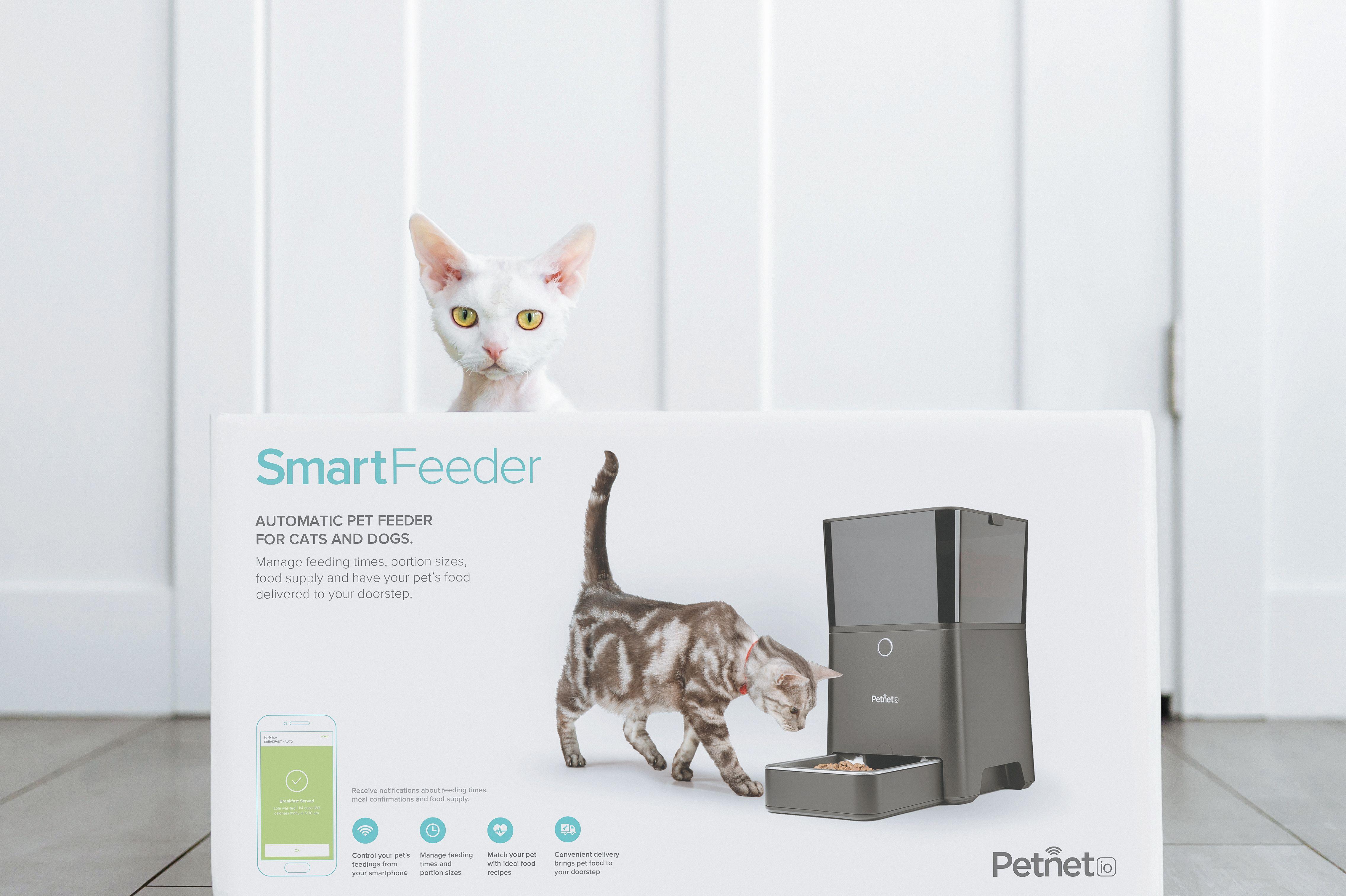 Smartfeeder Packaging Pet Feeder Your Pet Pets