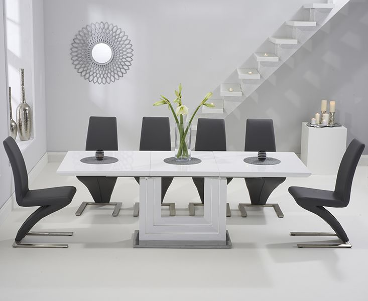 41+ High gloss extending dining table and chairs Tips