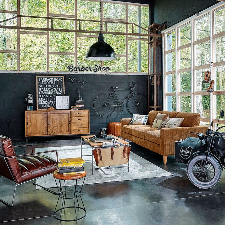 Decoration Maison Du Monde #8: Muebles Y Decoración De Interiores U2013 Industrial | Maisons Du Monde