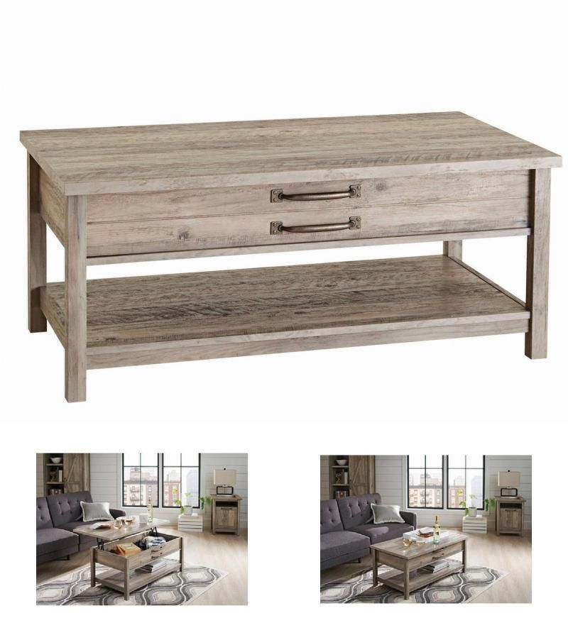 Fyi rustic home lift top coffee table furniture under