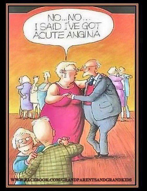 Acute angina joke