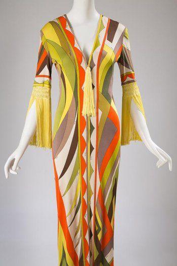 Emilio Pucci Dress Ca 1970 Fashion Institute Of Technology New York Pucci Vintage Fashion Italian Fashion Designers