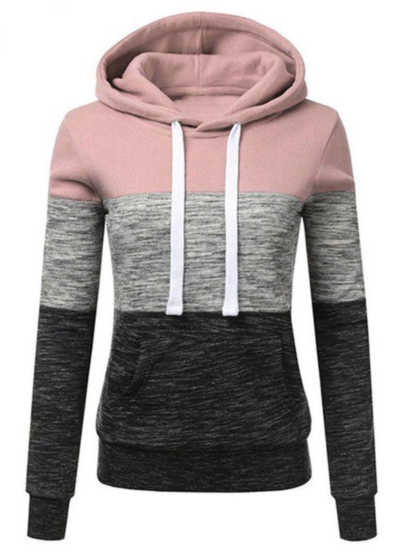 Wodstyle - Women's Long Sleeve Casual Hoodies Pullover Drawstring  Sweatshirts - Walmart.com in 2020 | Drawstring sweatshirt, Shirts women  fashion, Women hoodies sweatshirts
