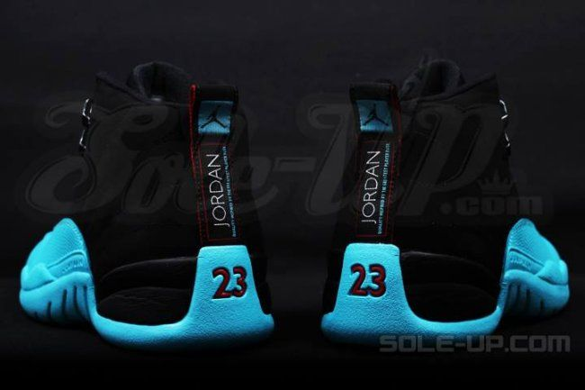 """8e1fab72fefd Air Jordan XII (12) Retro """"Gamma Blue"""" Detailed Images and Release Date"""