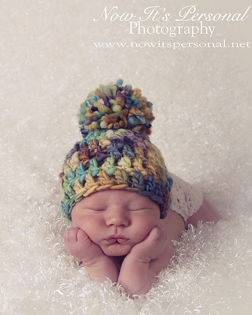 Crochet Hat Pattern Easy Beginner Handspun Beanie Crochet | Cute ...