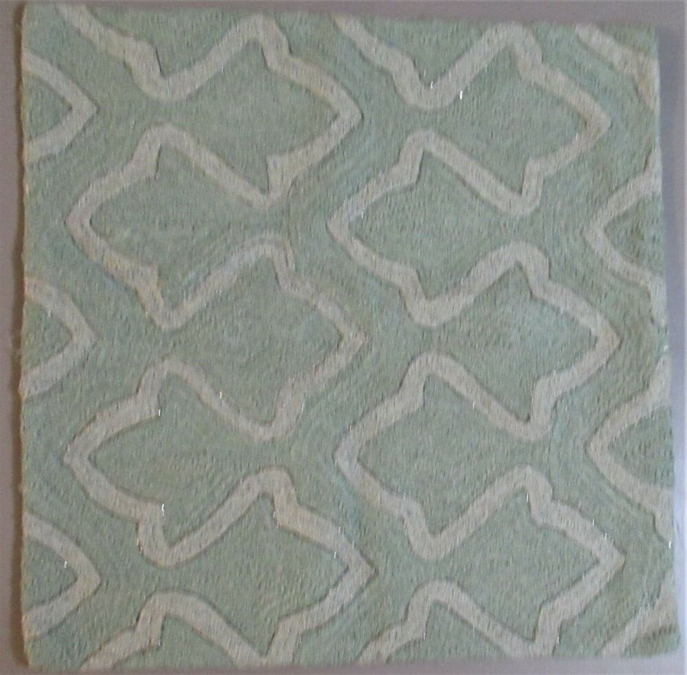 Pottery Barn Pillow Cover 20x20 Quot Tonal Green Amp Gray W