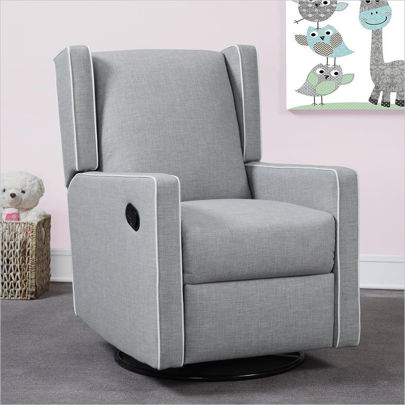 Combining functionality style and comfort the Monbebe Everston Swivel Glider Recliner is the perfect seating solution. The chair has a smooth gliding ... & Dorel Monbebe Everston Swivel Reclining Glider in Gray $600 ... islam-shia.org