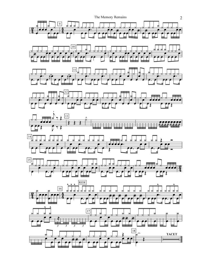 Partituras De Batería Gratis Es La Más Completa Colección De Partituras Para Batería Encontrarás Lecciones Ej Baterias Musicales Partituras Musica Partituras