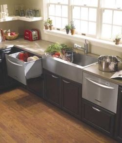 Nice Kitchen Layout Have A Single Drawer Dishwasher On One Side