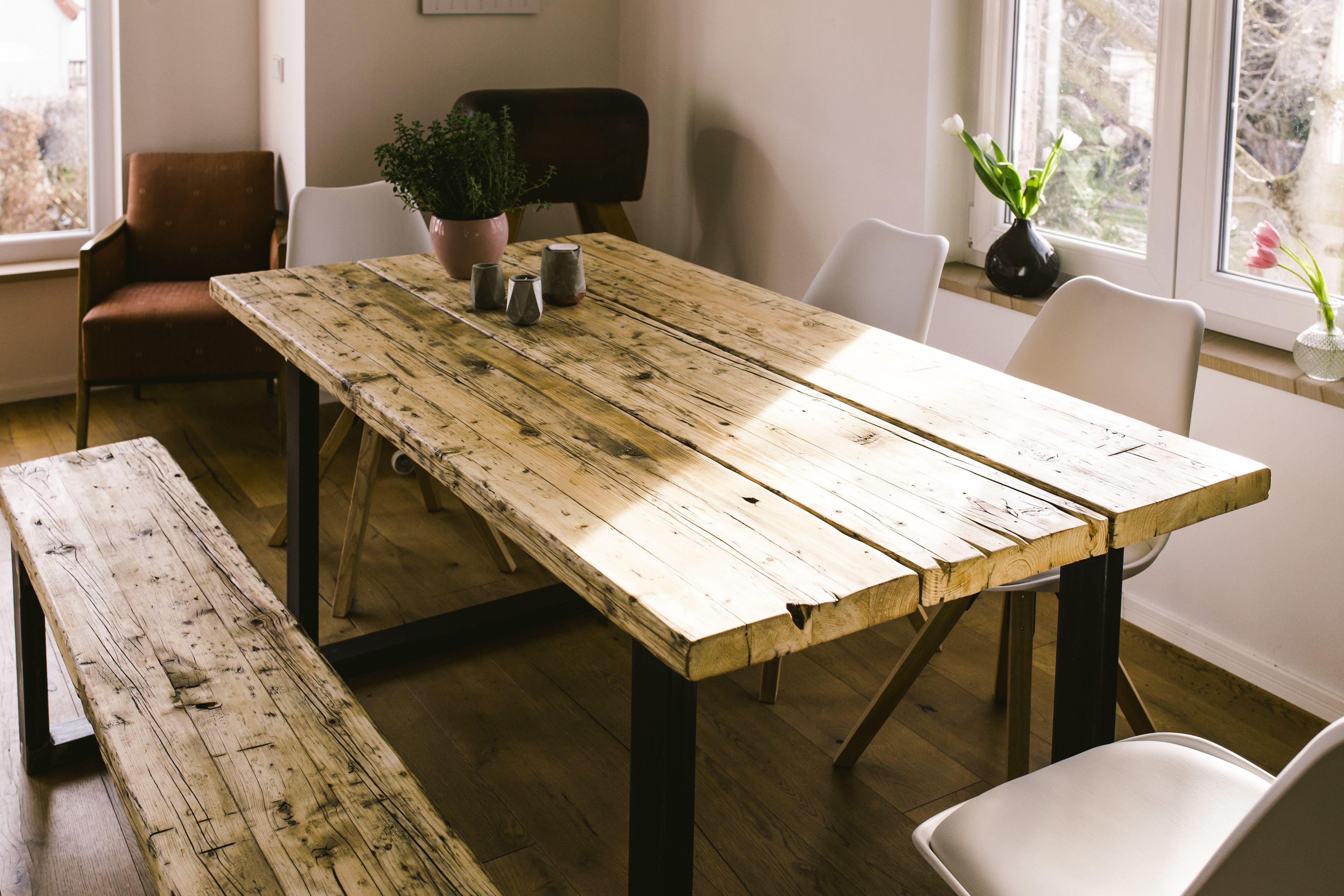 Tisch Aus Altholz esstischindustriedesign industrie design tisch recyceltes altholz