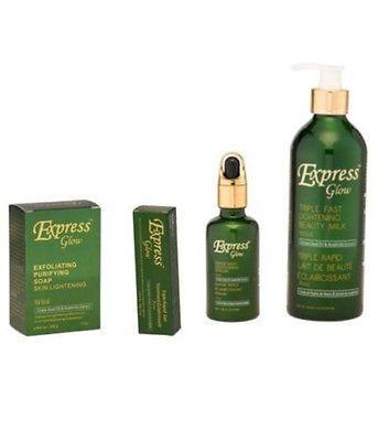 Express Glow Triple Fast Lightening Beauty Set Beauty Sets Lightening Creams Lightening