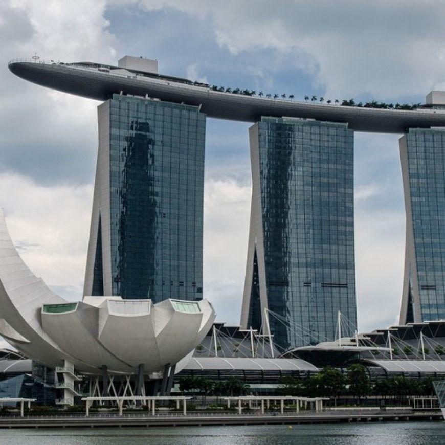 سياحة سنغافورة Marina Bay Sands Marina Bay Landmarks