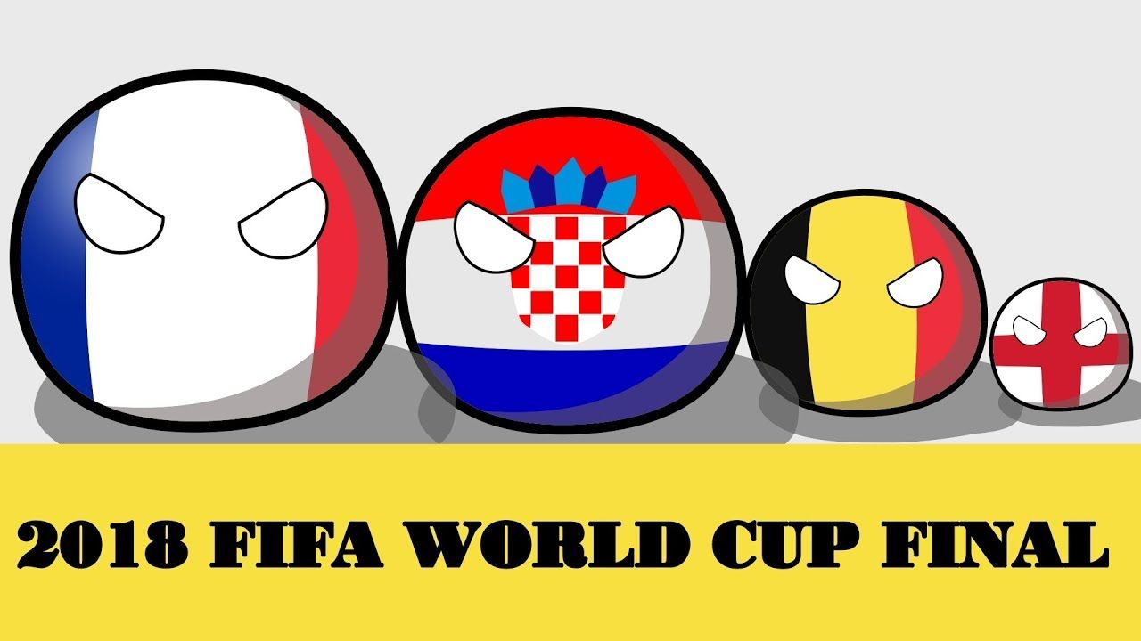 Polandball Animated France Croatia Belgium England In Funny Russia Worldcup 2018new Video By Countryball Animation On Youtube Https Youtu Be Rvdzicej8ai
