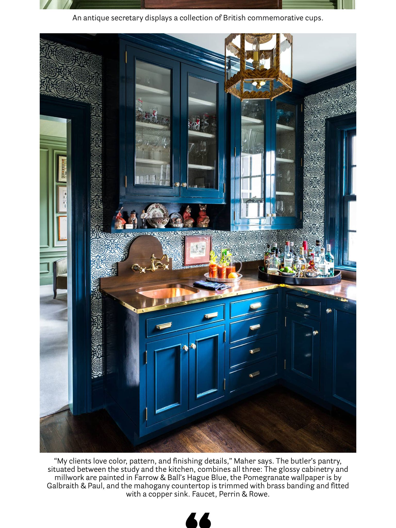inviting michael maher from house beautiful dec 2017 jan 2018 read it on the texture app on kitchen remodel apps id=78805