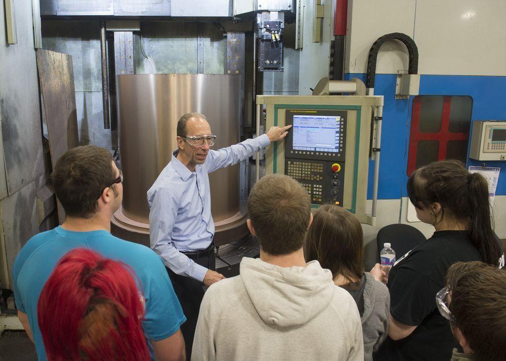 excel foundry machine tour illuminates modern manufacturing