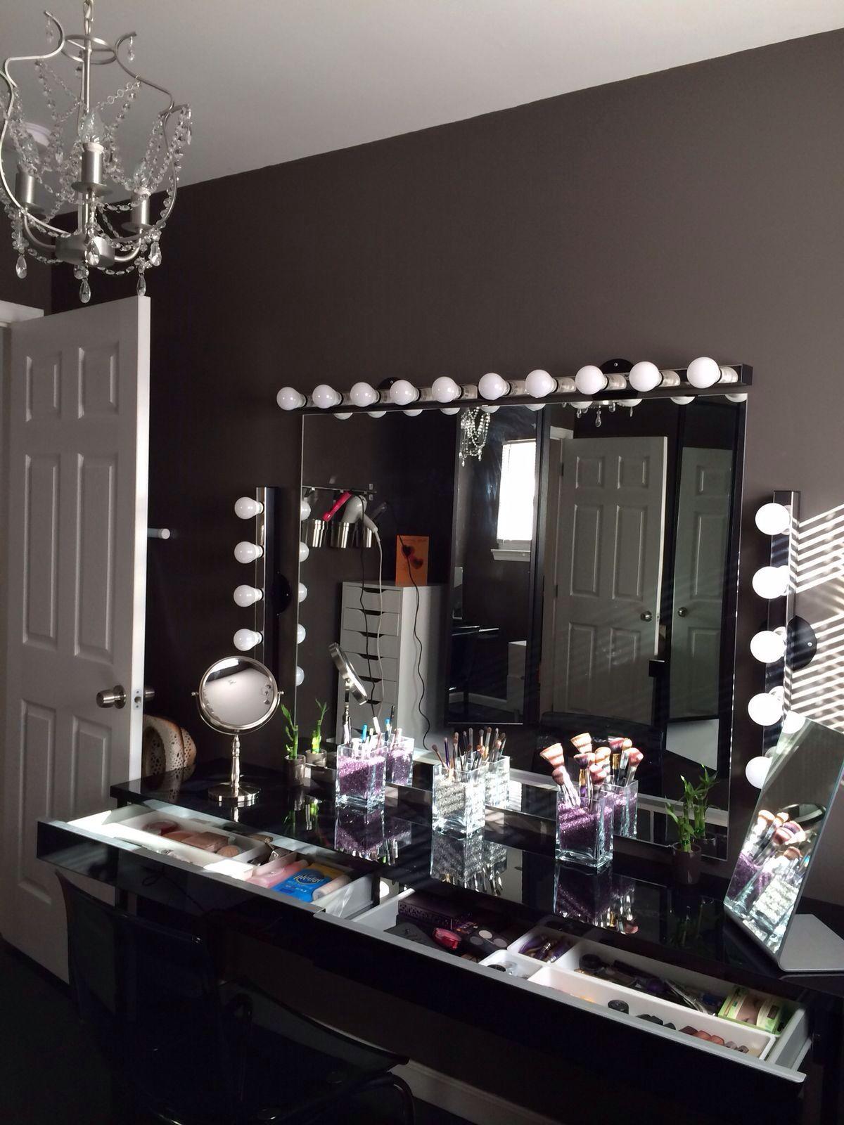 Makeup vanity area vanity table ideas pinterest vanity