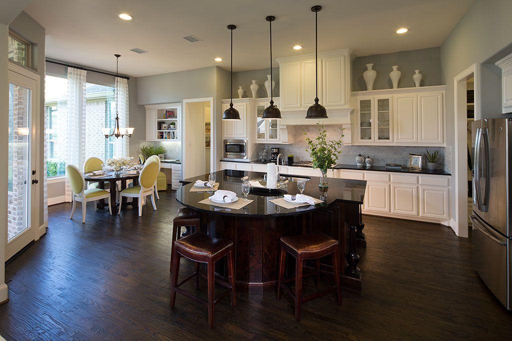 Dallas Kitchen Remodel Creative highland homes | whitley place | kitchen | prosper, tx | plan 294