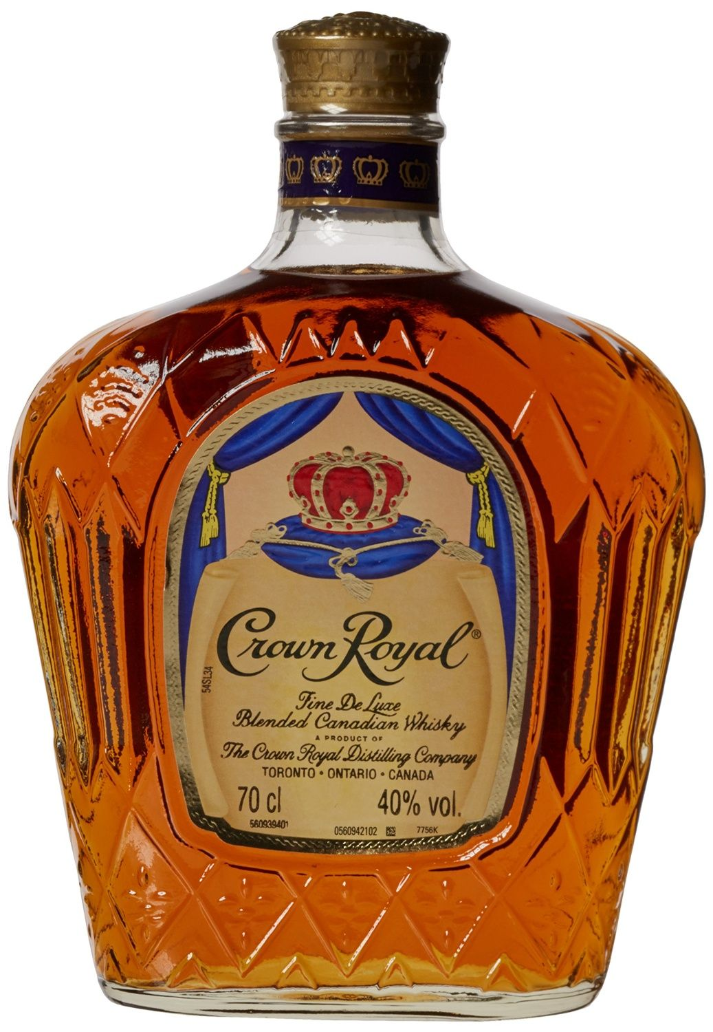 Crown Royal Blended Canadian Whiskey Bottle 70 cl: Amazon ...