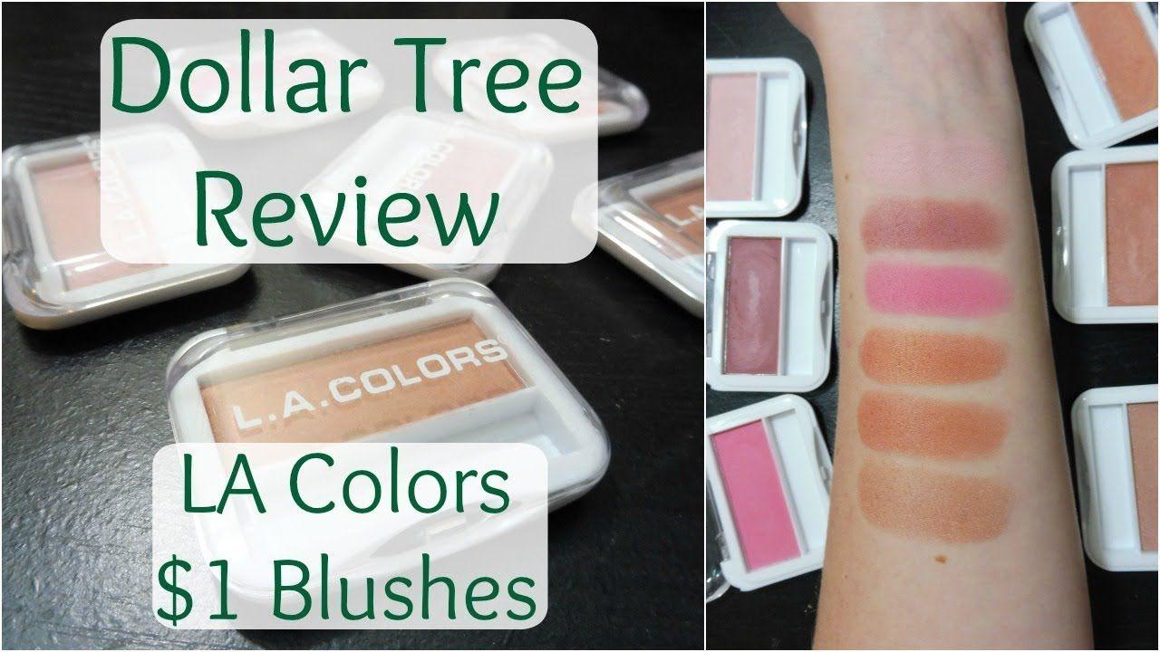 Dollar Tree Makeup Review LA Colors Expressions Blush