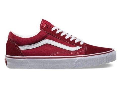 vans hombre rojas zapatillas
