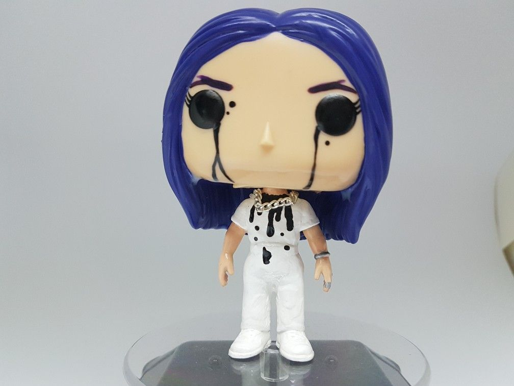 New Billie Eilish Custom Funko Pop Custom Funko Pop Funko Pop Dolls Funko Pop Toys