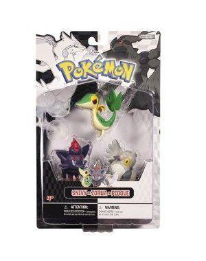 26a40473 Snivy, Pidove, Zorua: Pokemon Black And White Mini-Figure Multi-Pack Series  1 by Jakks. $12.96. Part of the Jakks Pacific Pokemon Black and White Multi- Pack ...