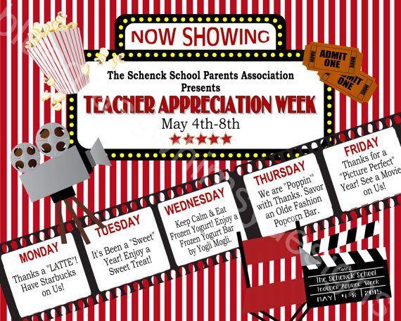 Teacher Appreciation Week Sign Printable 16 X 20